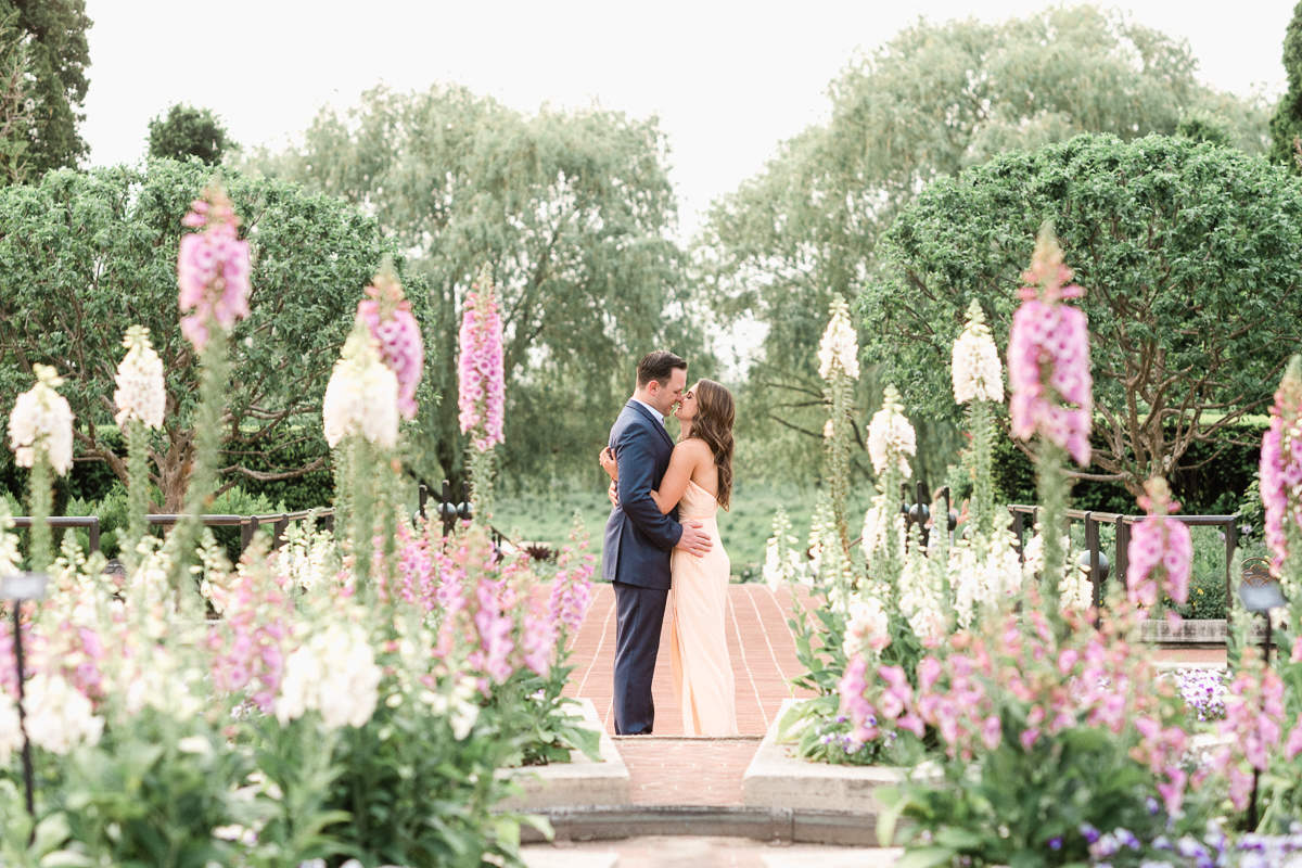 Where to take engagement + wedding photos in Chicago Suburbs