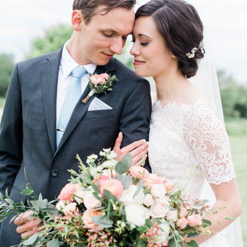 Romantic + Ethereal Chicago Wedding at Bull Valley Golf Club // Kathryn + Andrew