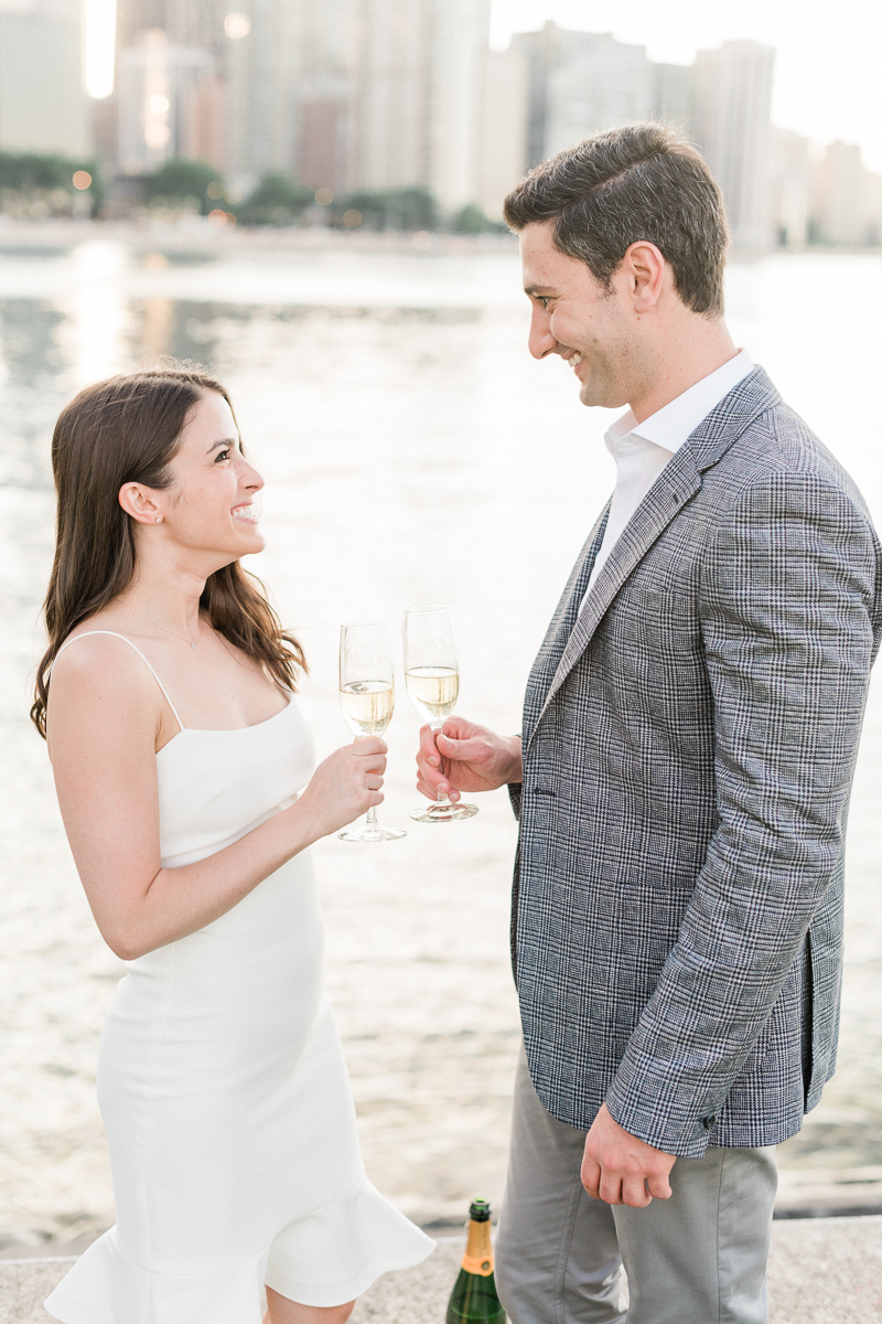 Light and airy Chicago Wedding Photographer – Olive Park Engagement Photos-66