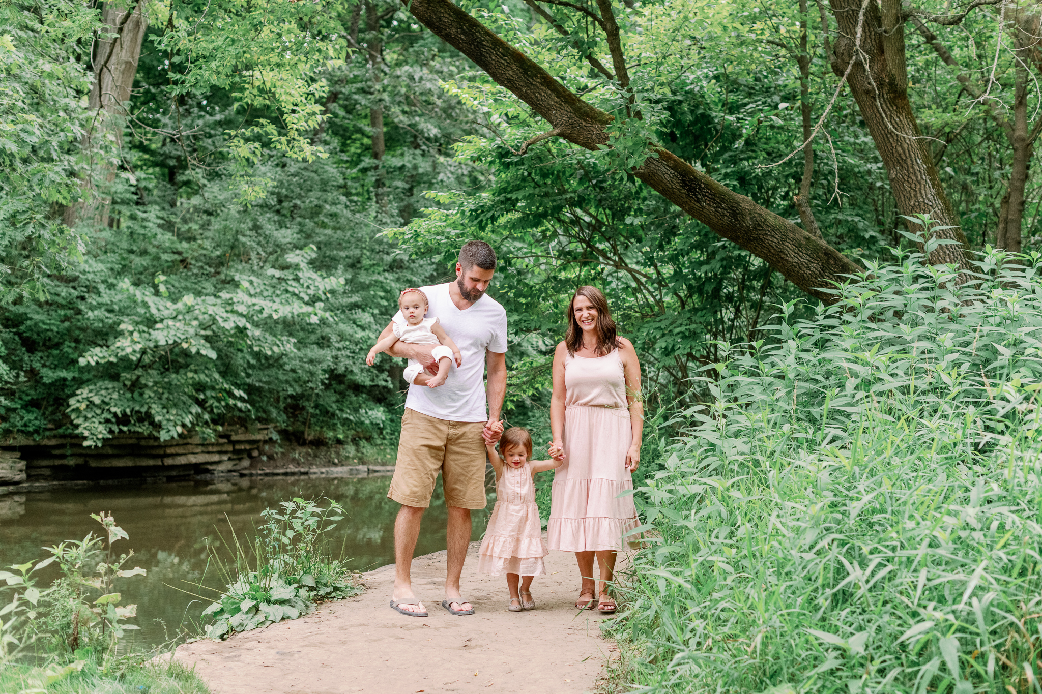 Chicago Naples Lifestyle Family Photographer – Waterfall Glen-17