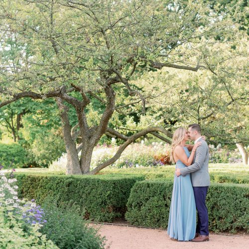 Light and Airy Chicago Engagement Photographer // Morton Arboretum Engagement Photos : Lexi + Chris