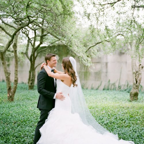 Art Institute Gardens Wedding Photos