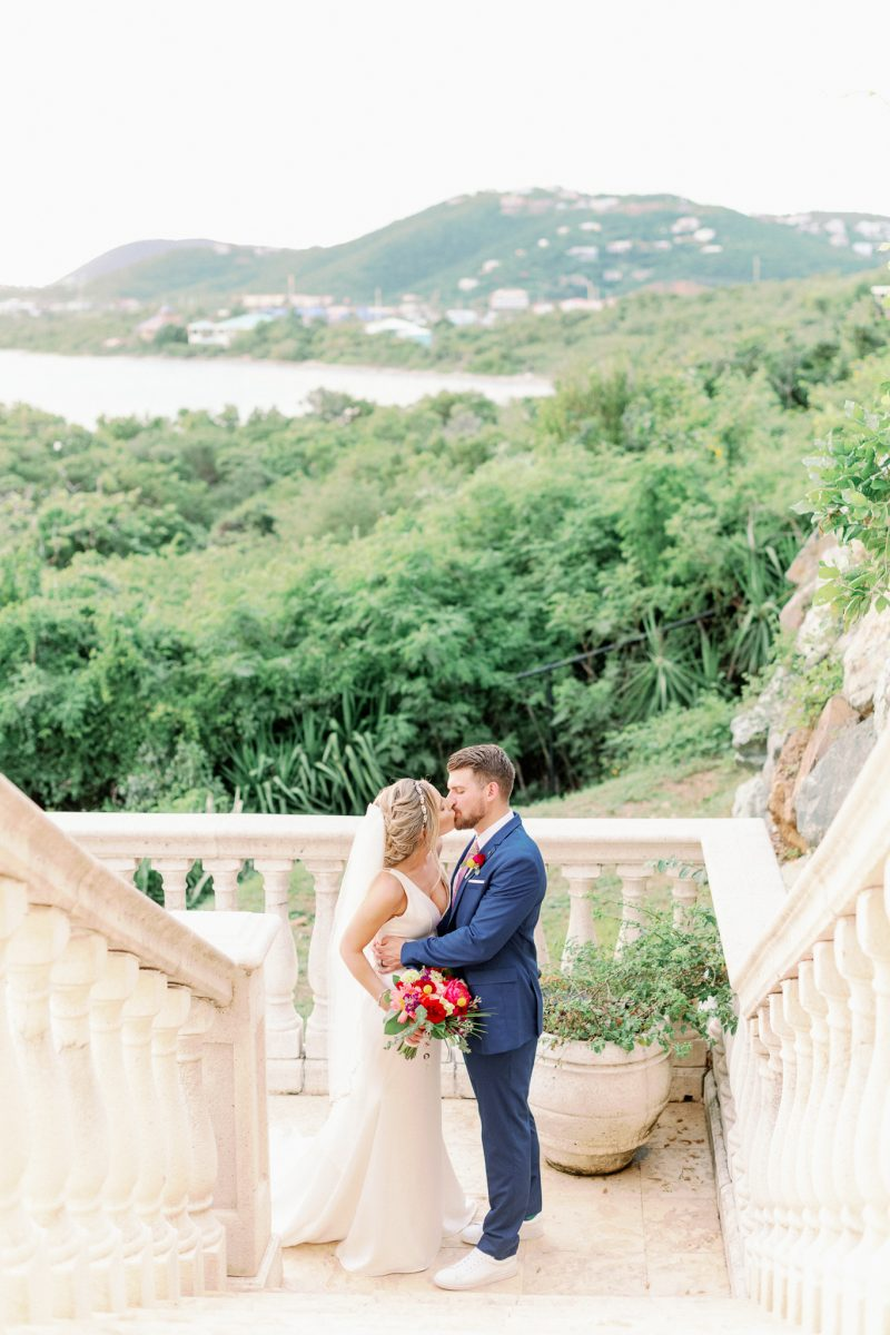 Villa Serenita St Thomas Wedding