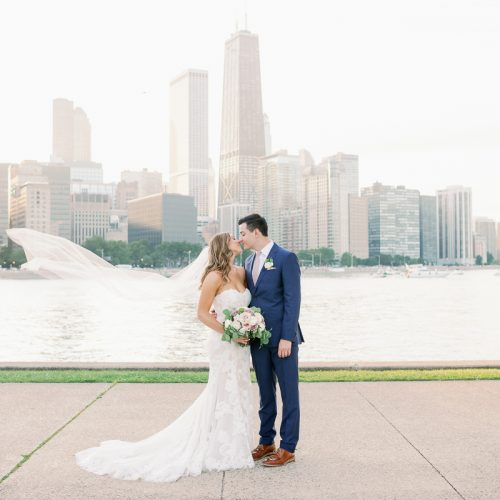 Light + Airy Chicago Wedding Photos - Galleria Marchetti + St. Alphonsus Wedding Photos // Meghan + Andrew
