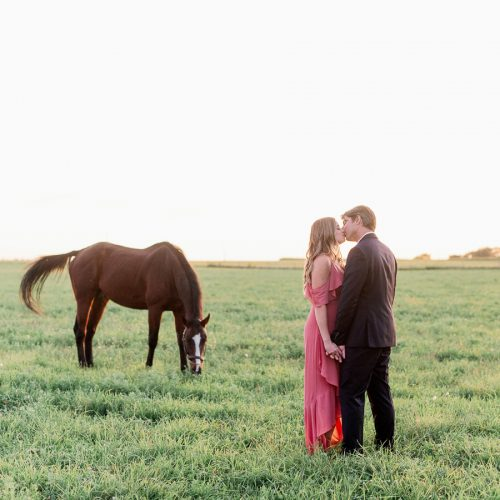 Fine Art Chicago Engagement Photographer - Horse Barn Engagement Photos // Brooke + Kevin
