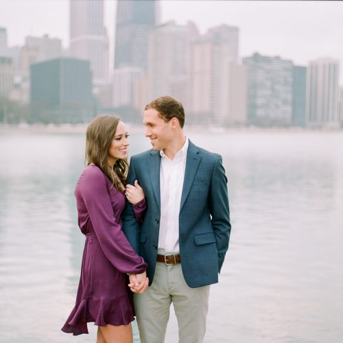 LIGHT AND AIRY CHICAGO ENGAGEMENT PHOTOGRAPHER : OLIVE PARK ENGAGEMENT PHOTOS // COLLEEN + TYLER