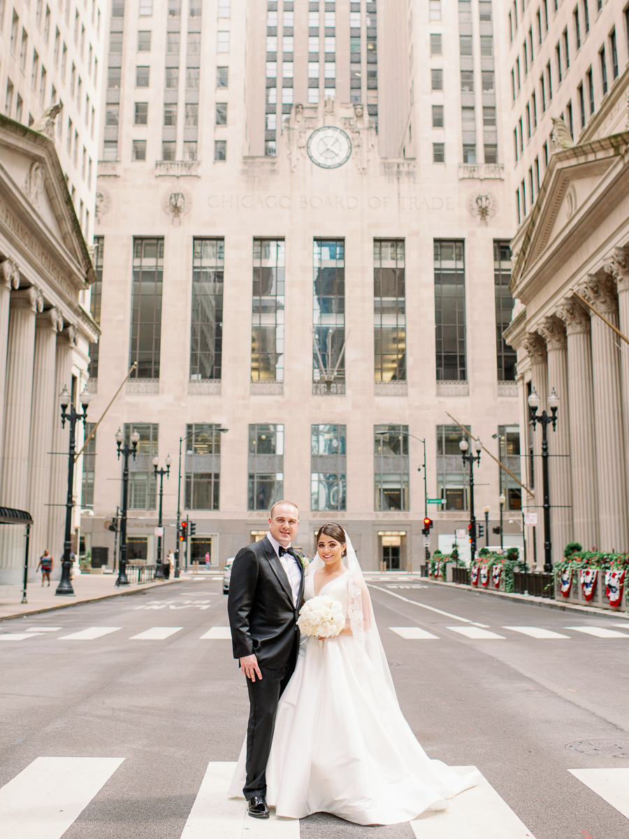 Chicago Fine Art Board of Trade Wedding Photos