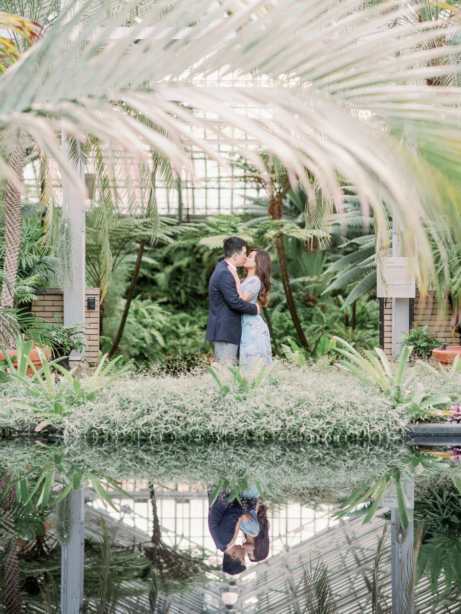 Garfield Park Conservatory Engagement Photos