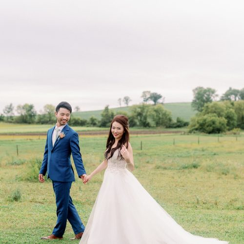Oak Hill Wedding Photos // Paige + Yunha