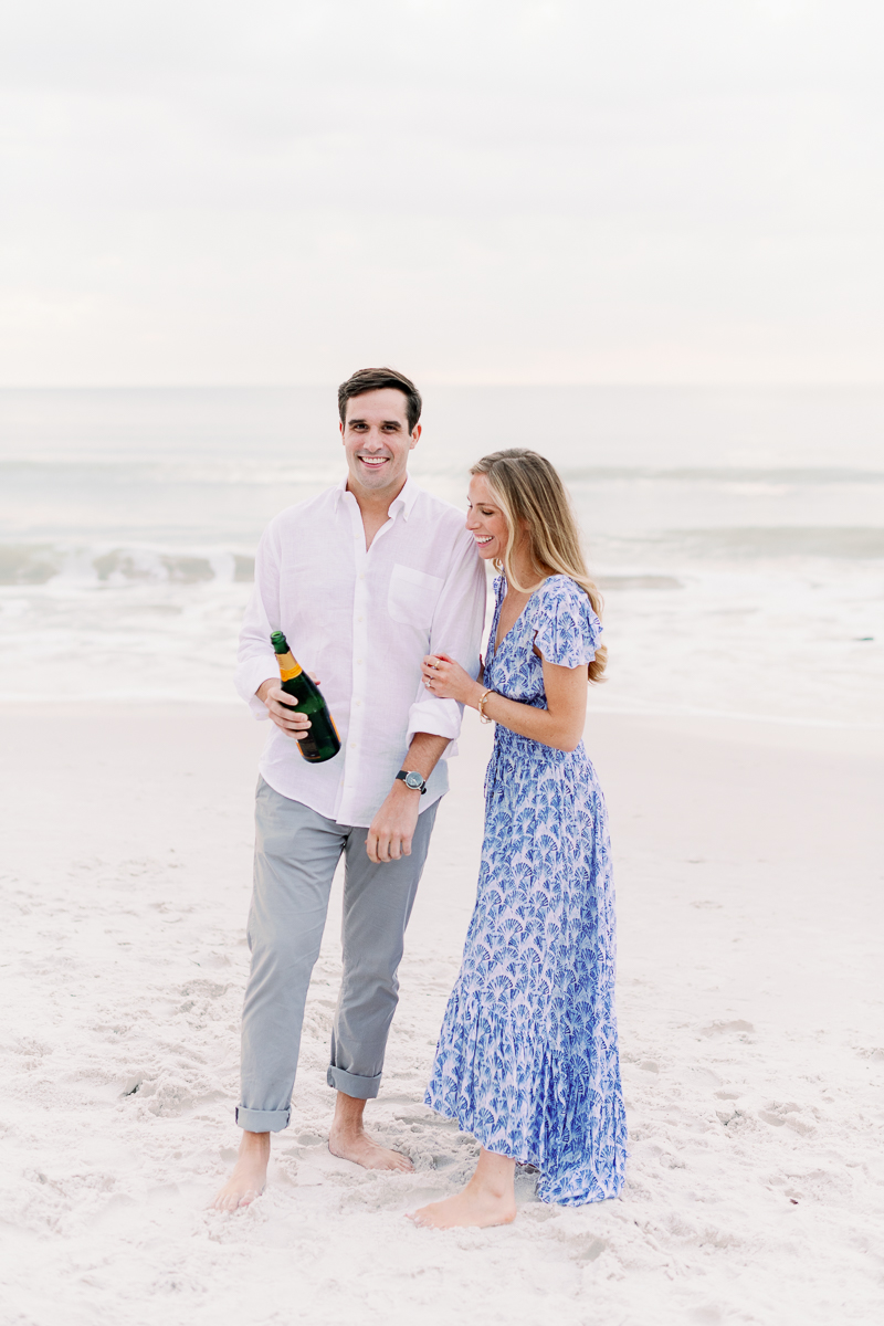 Naples Light and Airy Engagement Photographer