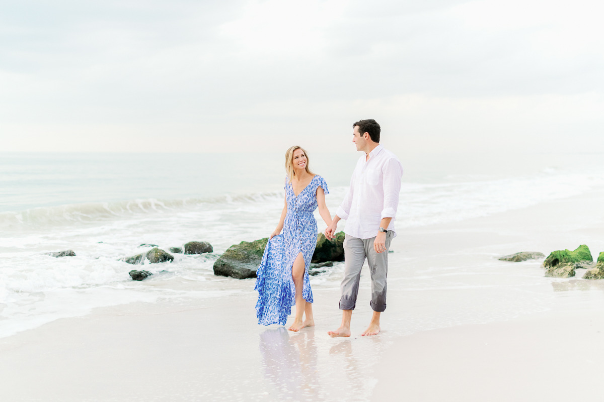 Naples Light and Airy Engagement Photographer - What to wear engagement photos
