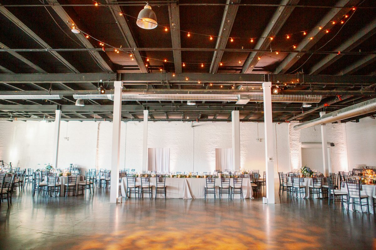 Best Industrial Loft Wedding Venues Chicago - Brittany Bekas Fine Art Wedding Photographer