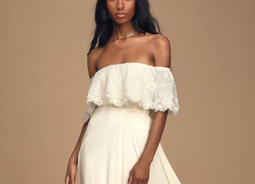 25 White Dresses to Wear for your Engagement Session (or any wedding events)