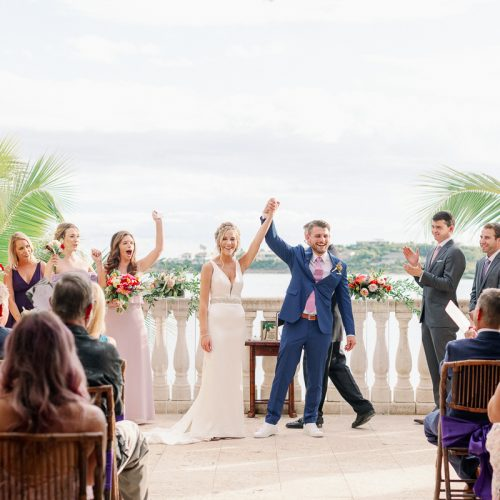 St. Thomas Destination Wedding at Villa Serenita // Kelsey + Matt