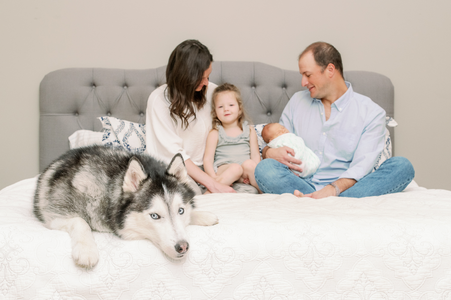 Chicago Naples Newborn Family Photographer – Lifestyle Newborn Photos-4