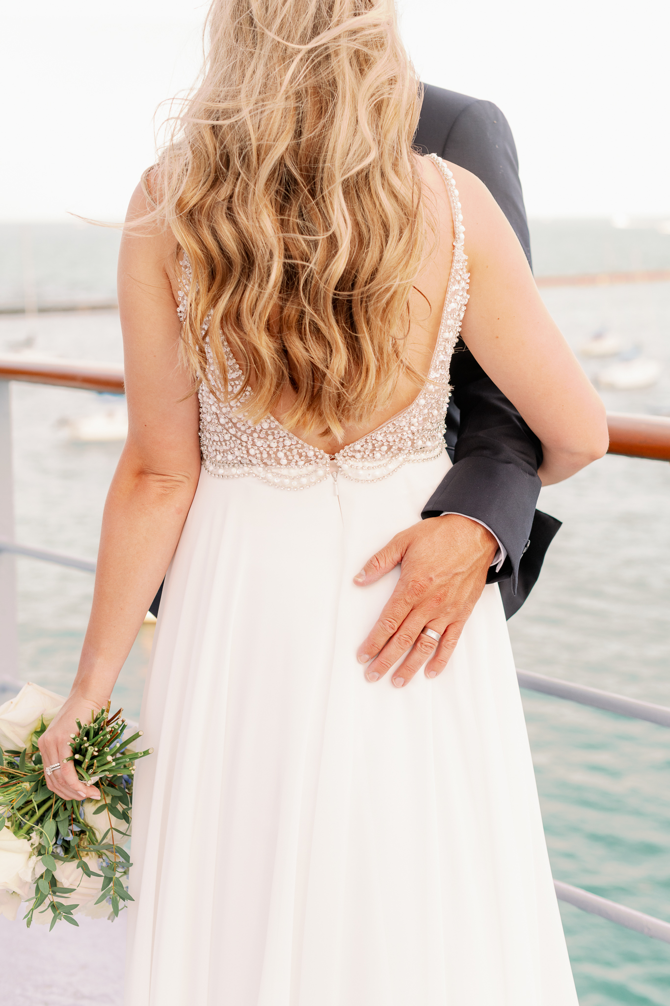 Intimate Chicago Wedding Elopement at Chicago Yacht Club-28