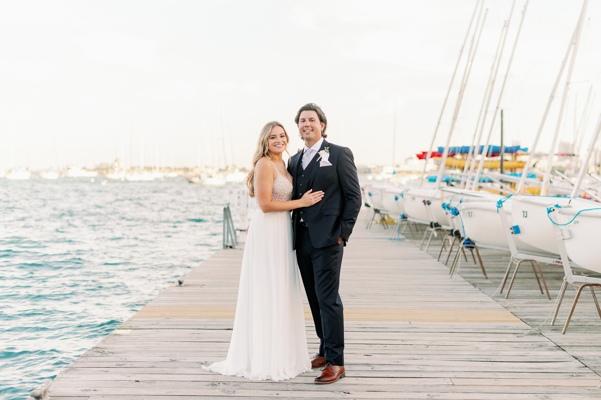 Intimate Chicago Wedding Elopement at Chicago Yacht Club-48