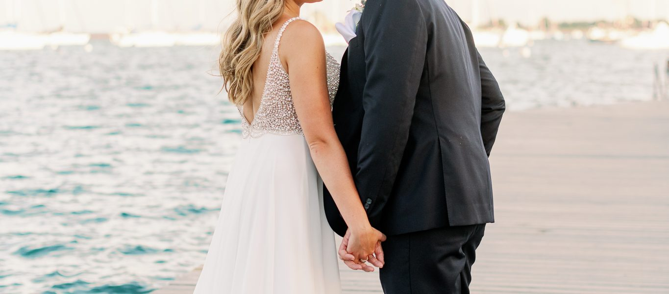 Chicago Yacht Club Intimate Wedding Photos – Brooke + Kevin