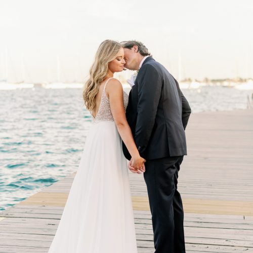 Chicago Yacht Club Intimate Wedding Photos - Brooke + Kevin