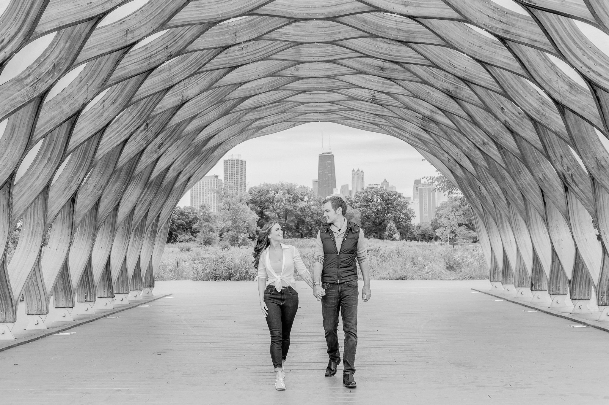 Chicago Engagement – Lincoln Park Alfred Caldwell Lily Pool Engagement Photos-12