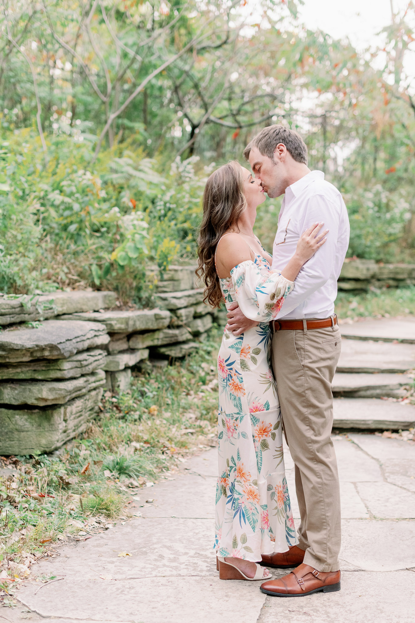 Chicago Engagement – Lincoln Park Alfred Caldwell Lily Pool Engagement Photos-16