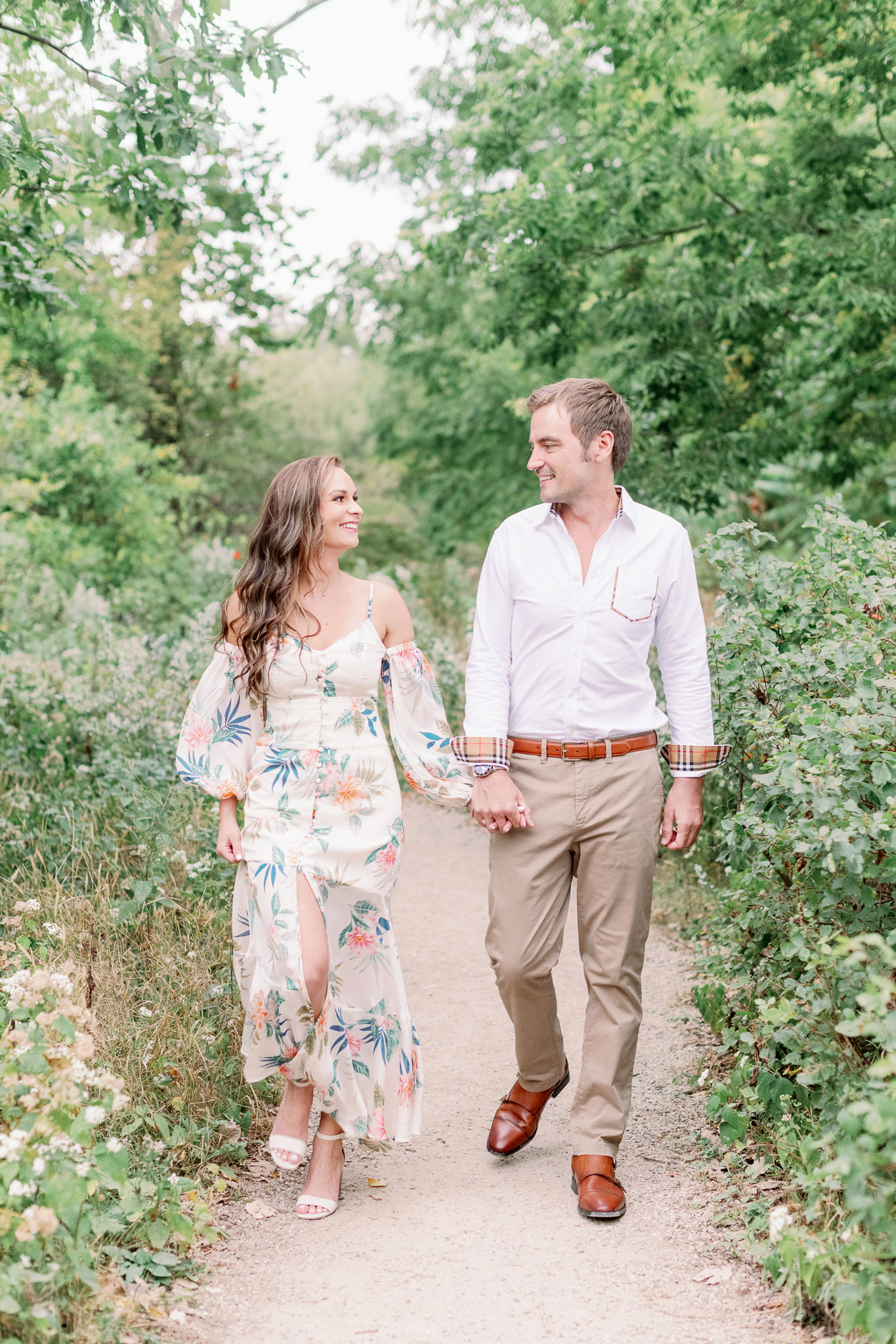 Chicago Engagement – Lincoln Park Alfred Caldwell Lily Pool Engagement Photos-21