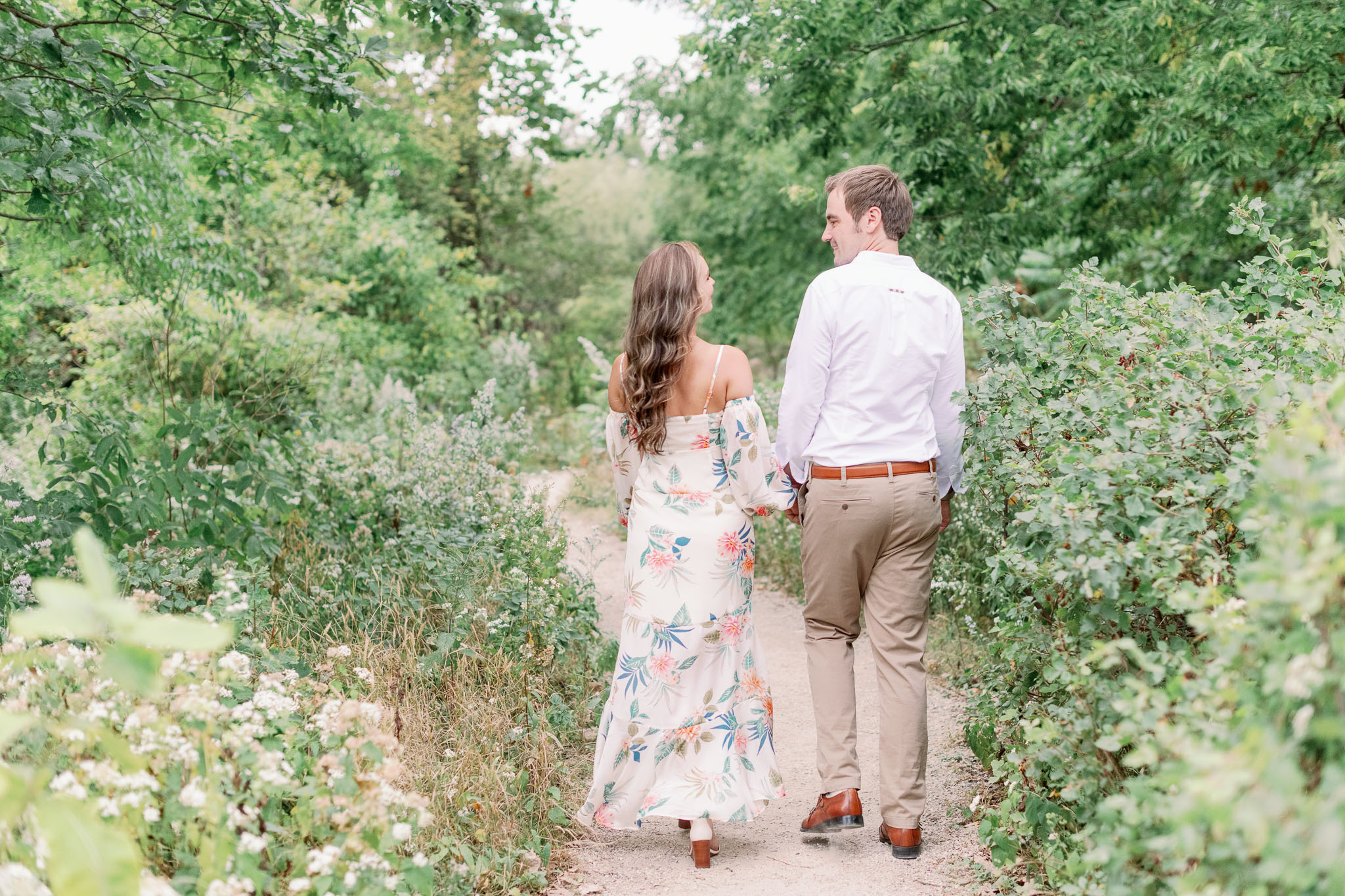 Chicago Engagement – Lincoln Park Alfred Caldwell Lily Pool Engagement Photos-22