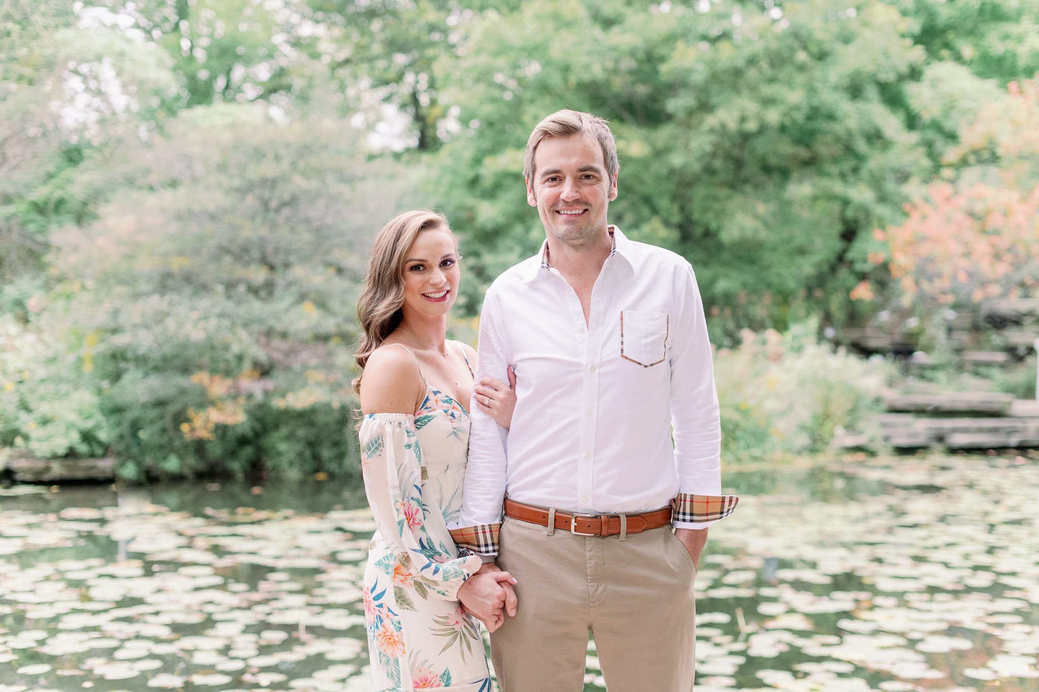 Chicago Engagement – Lincoln Park Alfred Caldwell Lily Pool Engagement Photos-25