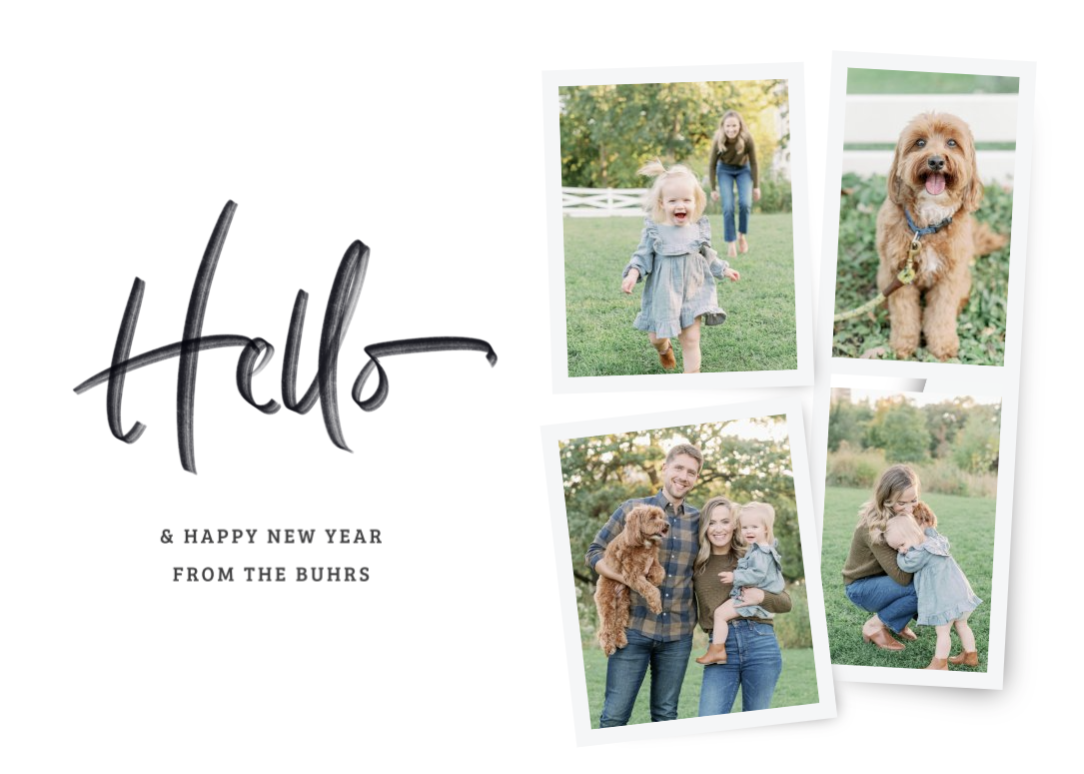New Year's Cards – Basic Invite