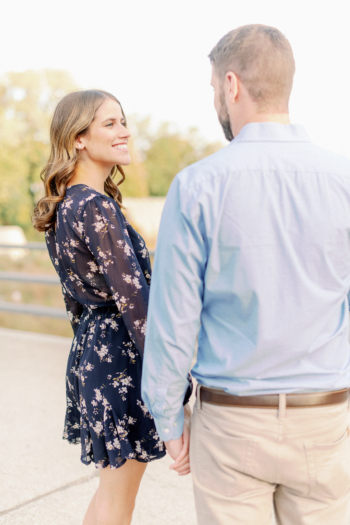 Light + Airy Chicago Naples Engagement Photographer - Lincoln Park Engagement