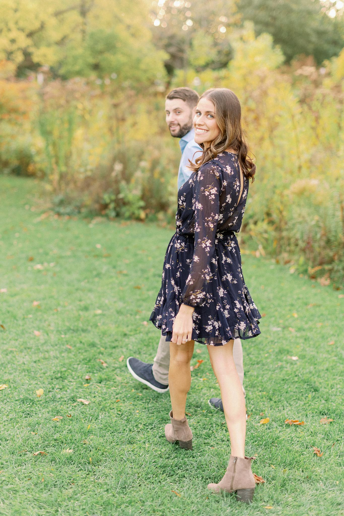 Chicago Fine Art Film Photographer – Lincoln Park Engagement Photos-39