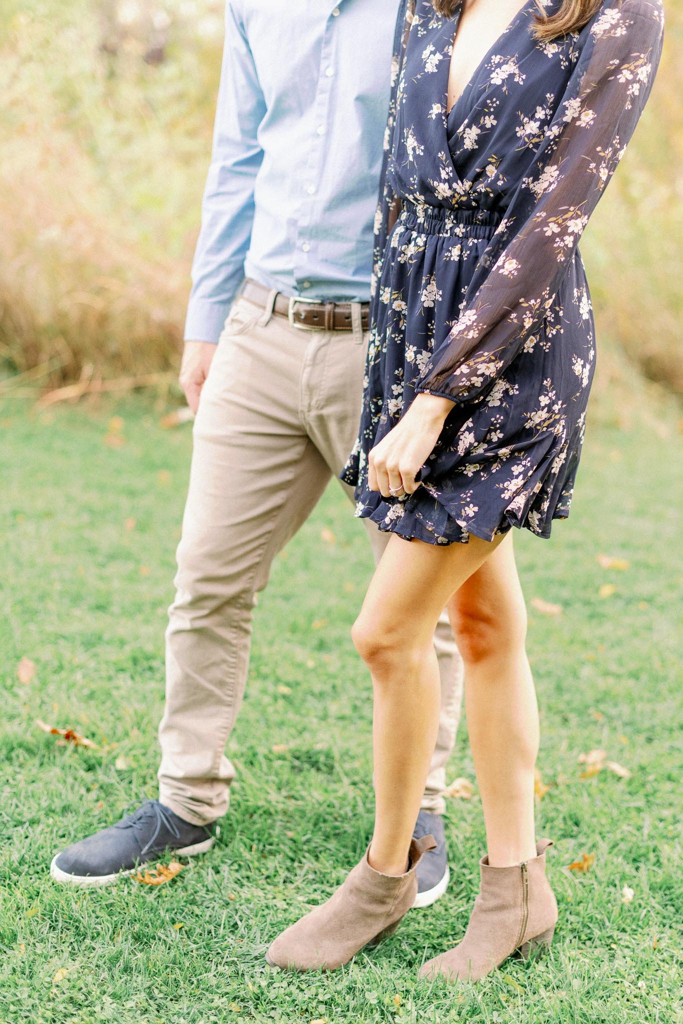 Chicago Fine Art Film Photographer – Lincoln Park Engagement Photos-40