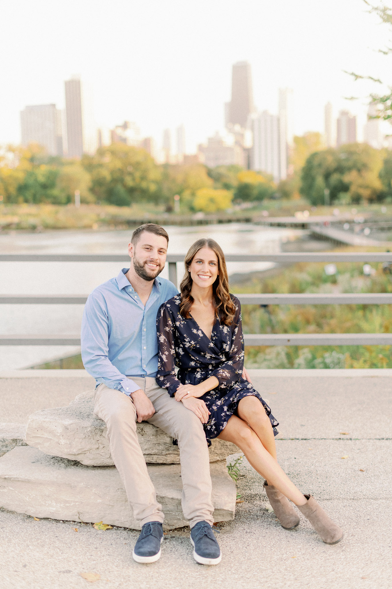 Chicago Fine Art Film Photographer – Lincoln Park Engagement Photos-46
