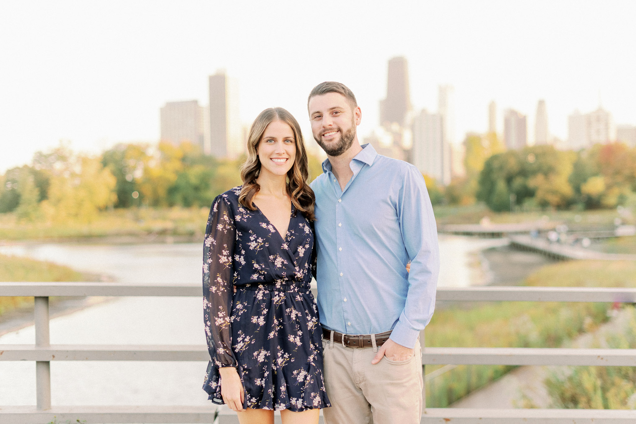 Chicago Fine Art Film Photographer – Lincoln Park Engagement Photos-47