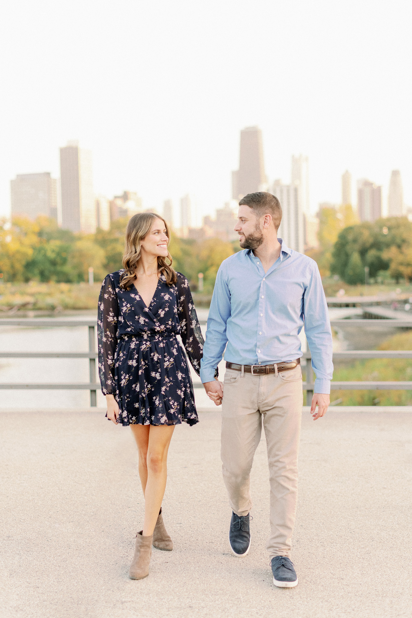 Chicago Fine Art Film Photographer – Lincoln Park Engagement Photos-48