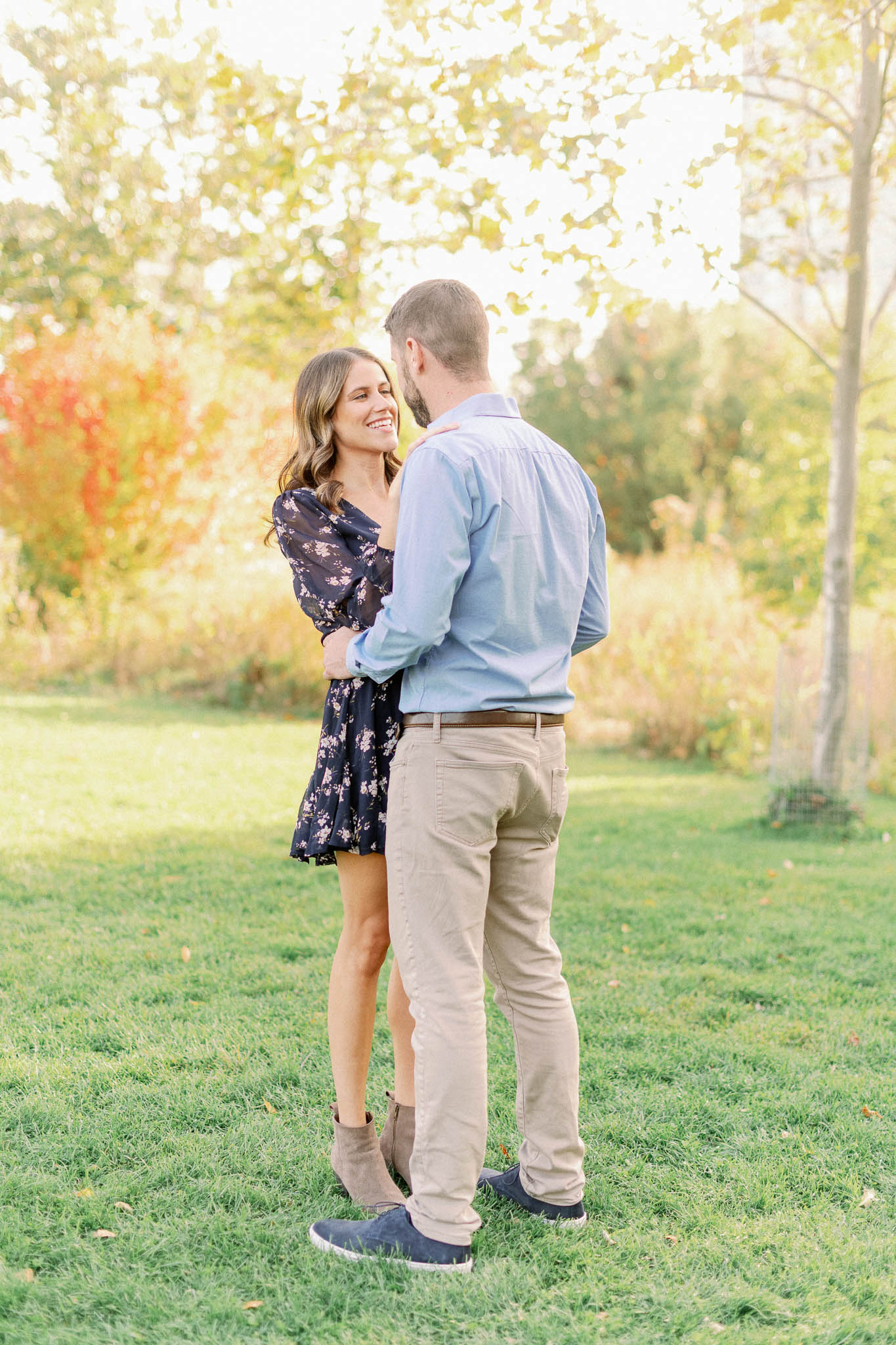 Chicago Fine Art Film Photographer – Lincoln Park Engagement Photos-5