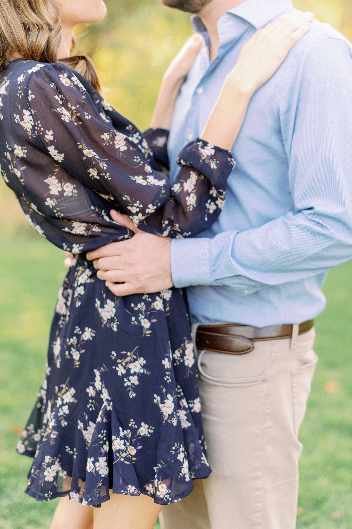 Chicago Fine Art Film Photographer – Lincoln Park Engagement Photos-6