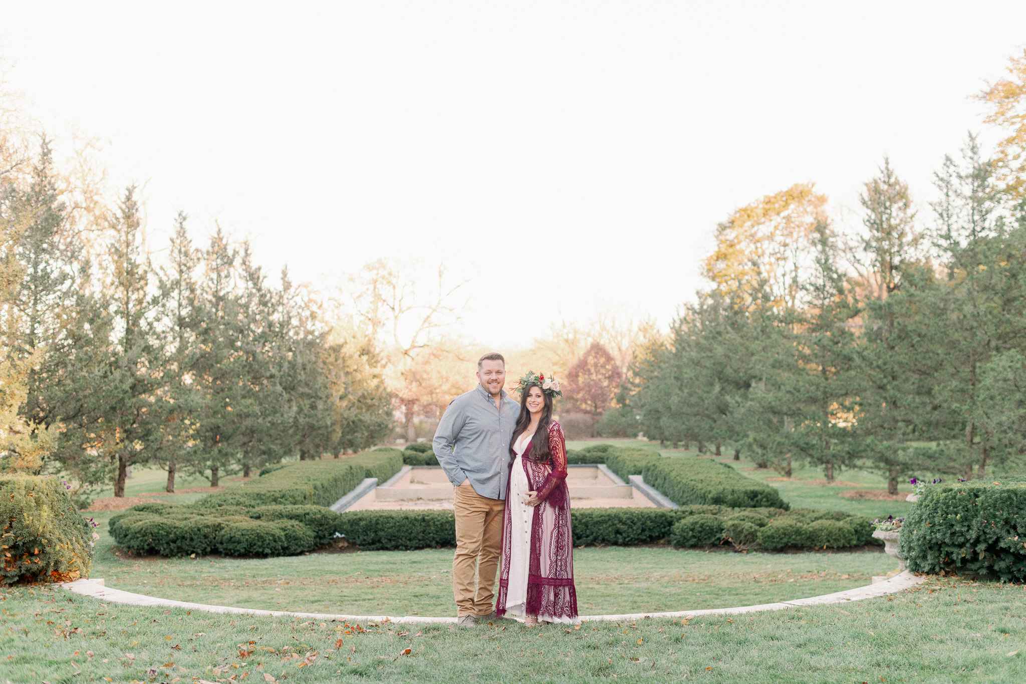 Chicago Southwest Florida Fine Art Maternity Family Photographer | Cantigny Maternity Photos -37