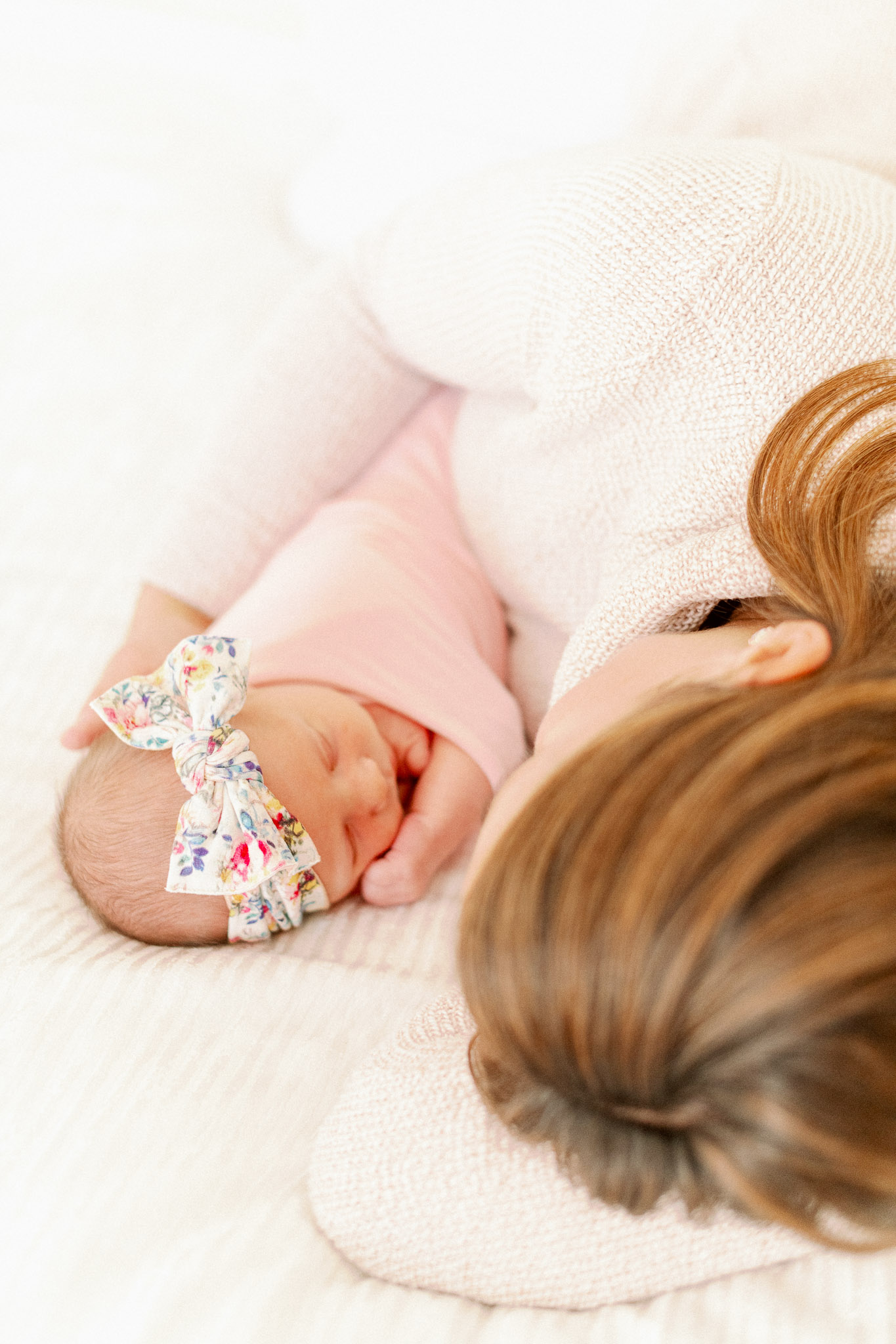 Naperville In-Home Newborn Family Photos – Chicago + Naples Fine Art Newborn Family Photographer-63